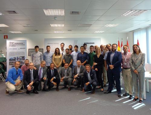 Bombardier y la Universidad Carlos III presentan la 5ª edición de su Máster en Ingeniería Ferroviaria