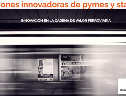 Publicado el dossier interactivo de la jornada sobre las soluciones innovadoras de pymes y startups del ciclo 'Innovación en la cadena de valor ferroviaria'