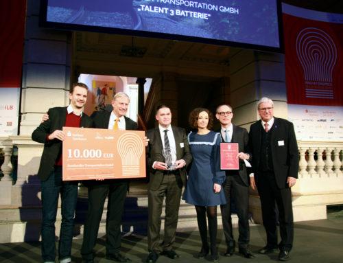 Premio a la innovación en Alemania para BOMBARDIER por contribuir a la sostenibilidad con su tren de baterías Talent 3