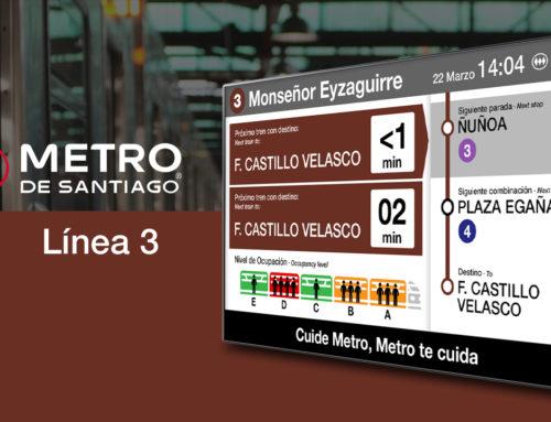 ICON MULTIMEDIA implementa las 'estaciones inteligentes' en la nueva línea 3 de Metro Santiago, en Chile
