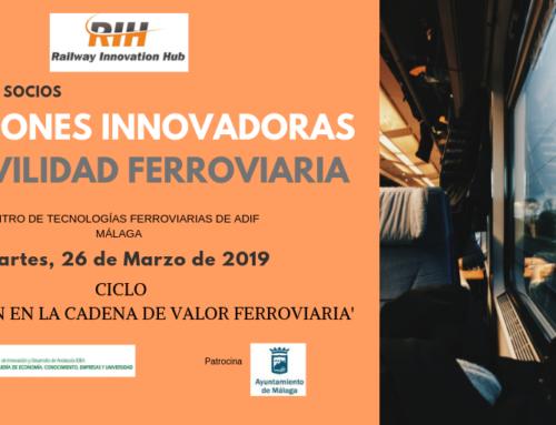 RIH lanzará dos líneas estratégicas de innovación y activará el primer proyecto colaborativo en la jornada 'Soluciones innovadoras en movilidad ferroviaria'