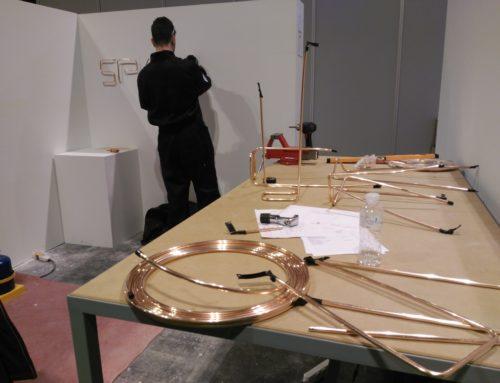 LA FARGA cede los tubos de cobre de 'Spainskills' para la formación de nuevos instaladores