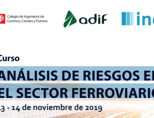 Curso 'Análisis de riesgos en el sector ferroviario' los próximos 13 y 14 de noviembre