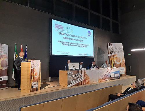 Adif presenta en el 10º Congreso de Innovación Ferroviaria las conclusiones de la campaña de pruebas del proyecto europeo ERSAT-GGC