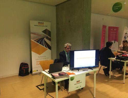 Railway Innovation Hub lleva la innovación en la movilidad ferroviaria al Avante Venture de Extremadura
