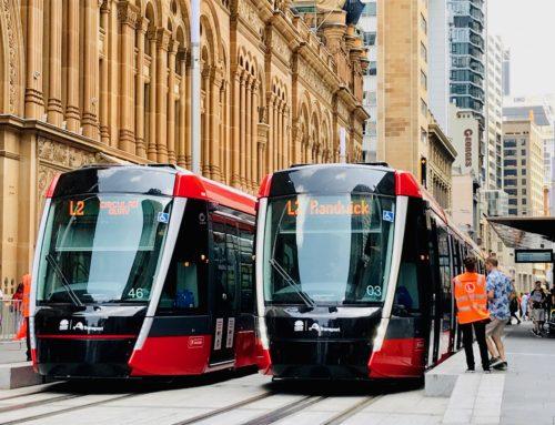El tranvía de Sídney comienza su servicio comercial con la fabricación de los tranvías por parte de Alstom España