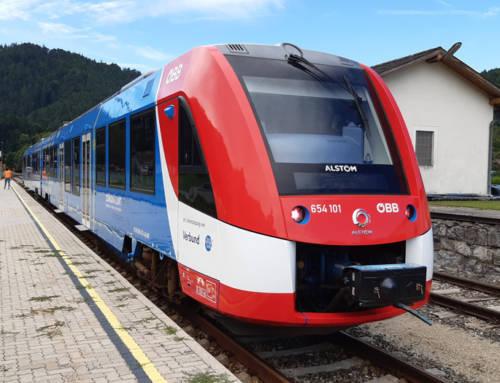 El tren de hidrógeno de Alstom comienza a prestar servicio comercial con pasajeros en Austria