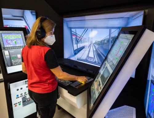 Nuevo simulador de conducción para Metro de Barcelona, desarrollado por Alstom.
