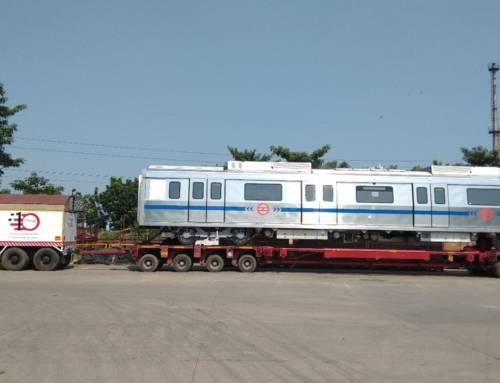 Bombardier Transportation entrega el vehículo número 800 a Metro de Delhi