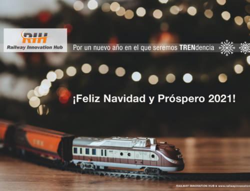 Por un nuevo año en el que seremos TRENdencia ¡Feliz Navidad y Próspero 2021!