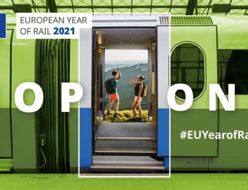 2021, Año Europeo del Ferrocarril, una forma verde y segura de viajar