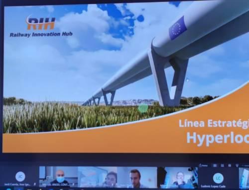 Línea Estratégica HYPERLOOP de Railway Innovation Hub – primera reunión de 2021