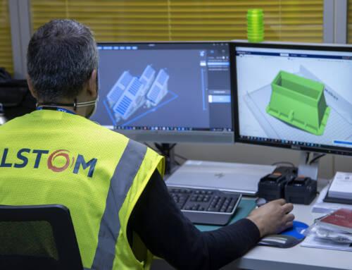 Alstom estrena nuevas instalaciones para su Hub de impresión 3D en el Centro Industrial de Santa Perpètua