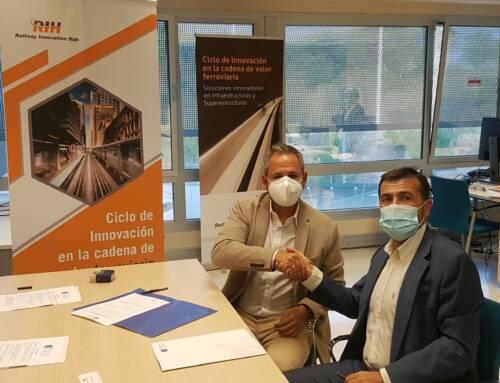 Railway Innovation Hub firma acuerdo con Andalucía Aerospace